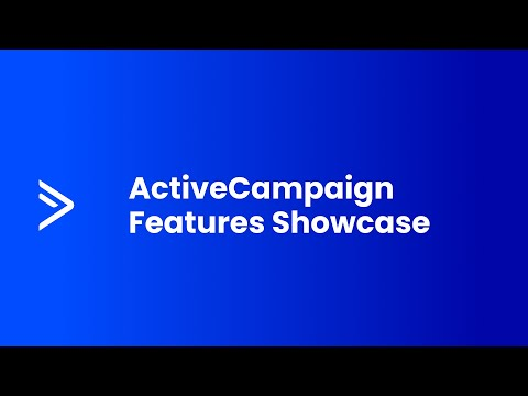ActiveCampaign Features Demo