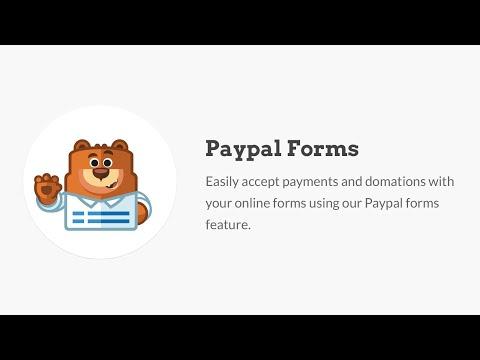 WPForms Paypal Form