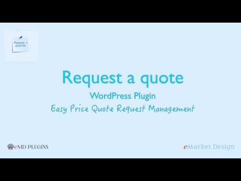Request A Quote WordPress Plugin - Easy Price Quote Request Management
