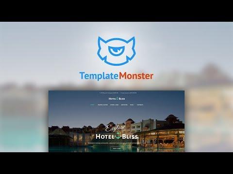 HotelBliss - Spa & Resort Hotel WordPress Theme #62442