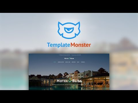 HotelBliss - Spa & Resort Hotel WordPress Theme #62442