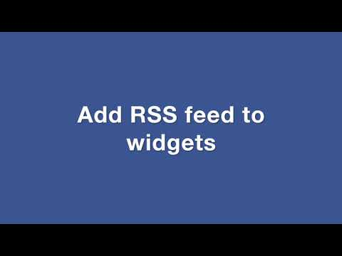 How to use WordPress RSS Feed Retriever Plugin