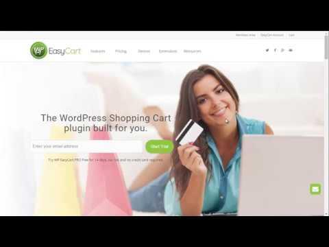 WP EasyCart - 4 Minute Demo of the WordPress Shopping Cart plugin!