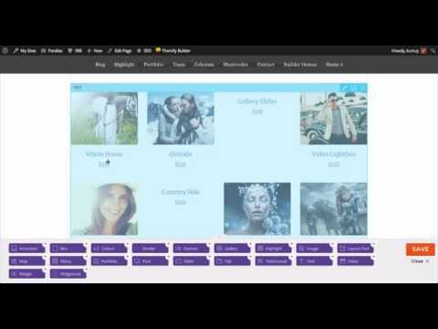 Themify - Parallax Homepage Video Tutorial (Old)