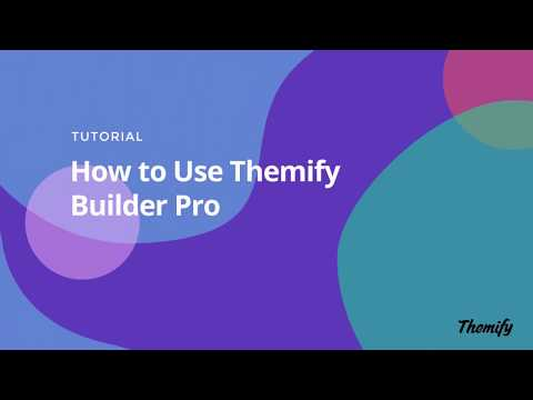 Themify's Builder Pro - A WordPress Theme Builder
