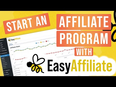 Start An Affiliate Program With Easy Affiliate!
