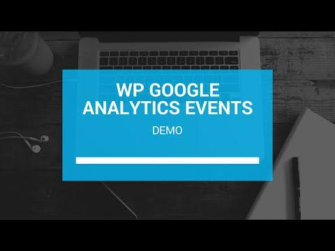 WP Google Analytics Events Demo