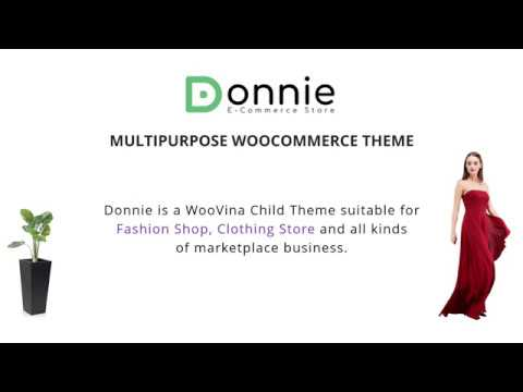 [WooVina Child Theme] Donnie - Multipurpose WooCommerce WordPress Theme