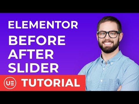 Elementor Widgets - Before After Slider for Elementor