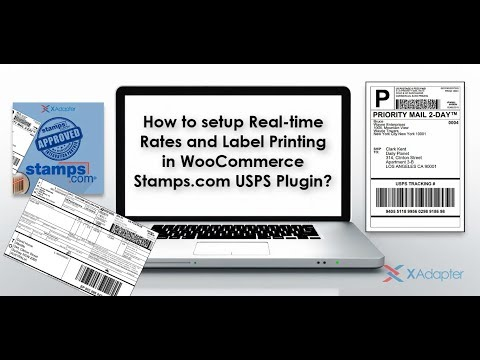 How to setup Real-time Rates and Label Printing in WooCommerce Stamps.com USPS Plugin?