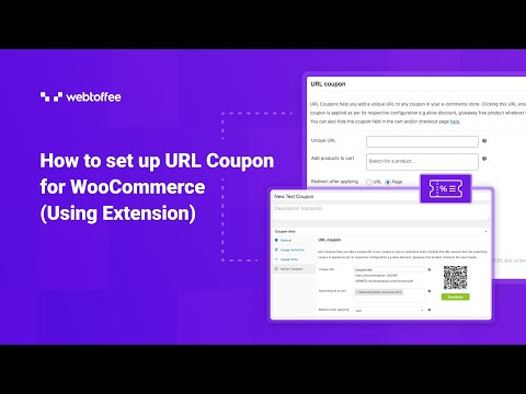How to set up URL Coupon for WooCommerce (Using Extension) - WordPress Plugin