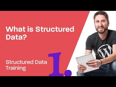 Structured Data Training 1: What is Structured Data?