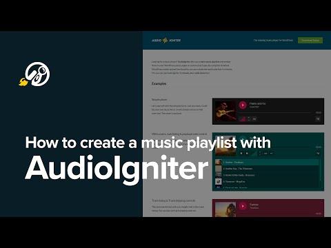 How to Add Audio Player in WordPress with AudioIgniter WordPress plugin