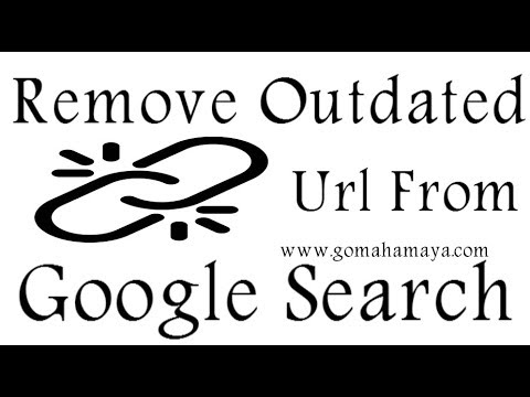 Remove Outdated Url From Google Search