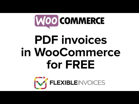 How to generate a PDF invoice in WooCommerce & WordPress [free plugin]