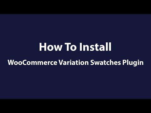 [Free] How To Enable Color, Image, and Label Swatches Plugin for WooCommerce Variable Products