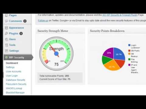 All In One WordPress Security and Firewall Plugin Overview