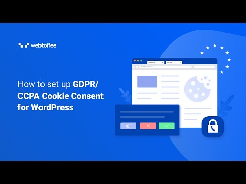 How to set up GDPR/CCPA Cookie Consent for WordPress (v1.9.5 and below)