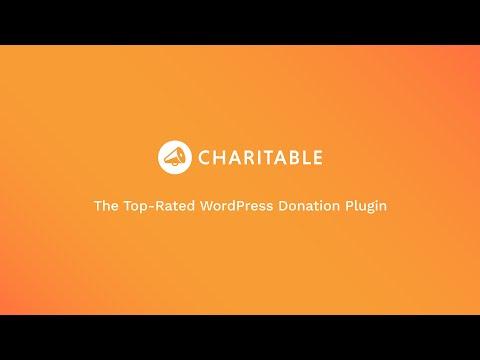 Charitable — WordPress Donation Plugin