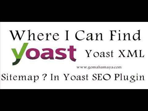 Where I Can Find Yoast XML Sitemap In Yoast SEO Plugin new update
