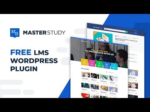 MasterStudy LMS WordPress FREE Plugin Detailed Tutorial Ver. 2.0 | StylemixThemes