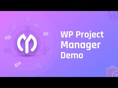 WordPress Project Management: WP Project Manager Demo (Updated)