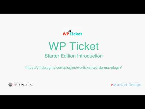 Best Support Ticket Plugin for WordPress - WP Ticket introduction