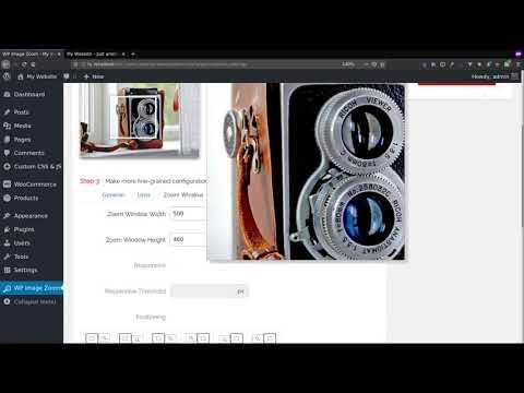 WP Image Zoom plugin