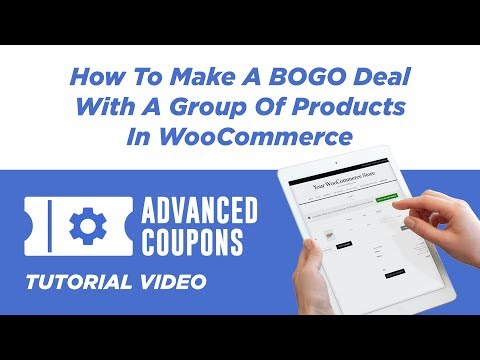 How To Make A BOGO Deal With A Group Of Products In WooCommerce