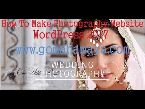 RokoPhoto Pro Photography WordPress Theme Tutorial 2018