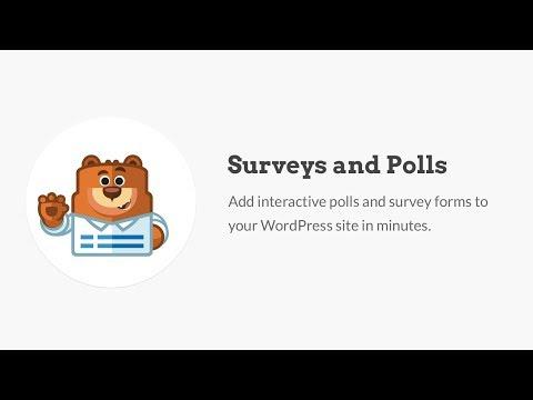 WPForms Survey Form Builder Addon