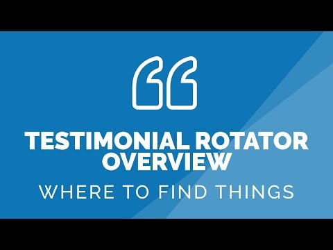Is this WordPress Plugin for you? – Testimonial Rotator Overview