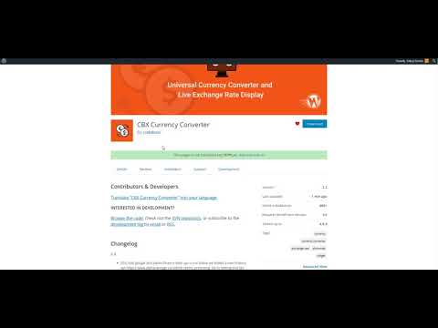 how to set api key for CBX Currency Converter for WordPress