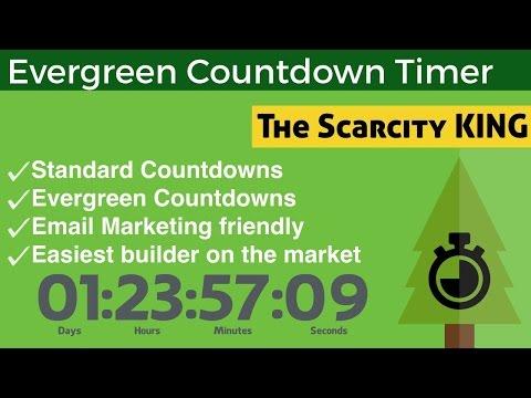 Evergreen Countdown Timer - Free WordPress Plugin