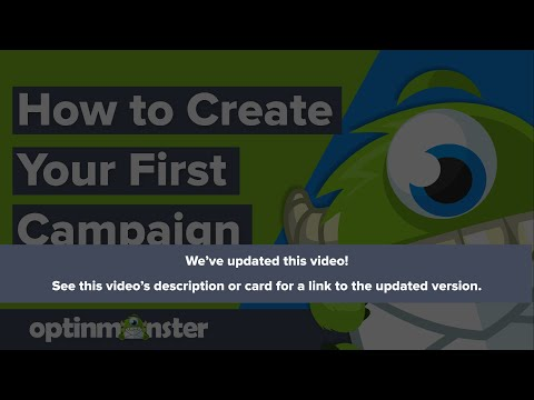 Creating Your First Campaign