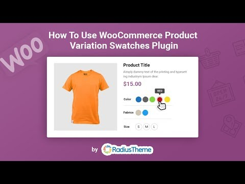 How to use WooCommerce Product Variation Swatches Plugin