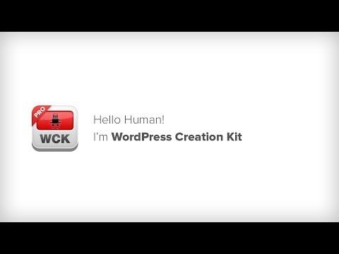 WordPress Creation Kit Intro
