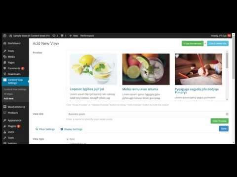 Content Views Plugin – Post Grid & List for WordPress