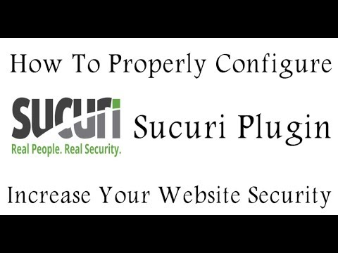 Sucuri Security WordPress Security Plugin Setting 2020