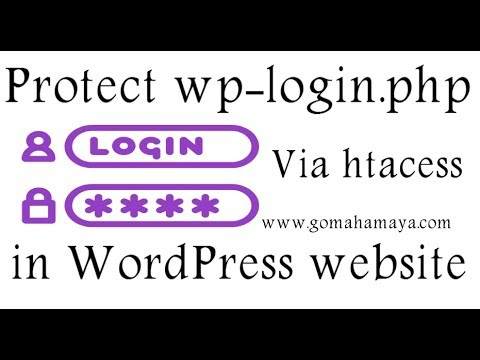Protect wp-login.php file using htacess in your WordPress website