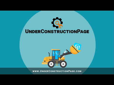 Under Construction Page plugin for WordPress (free)
