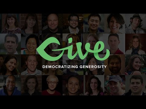 Announcing Give: Democratizing Generosity
