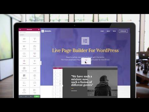 Elementor Page Builder For WordPress - Build Stunning Websites Free & Easy