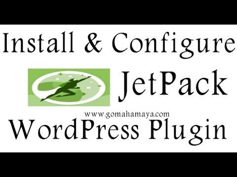 JetPack WordPress Plugin Setting Tutorial 2018