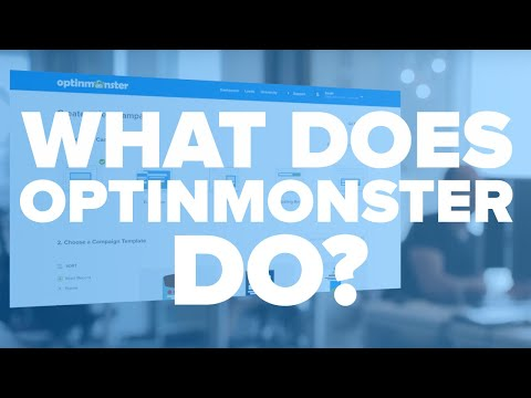 What Does OptinMonster Do?