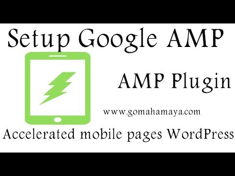 Setup Google amp or accelerated mobile pages in WordPress