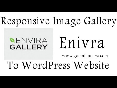 How To Add Responsive Image Gallery To WordPress Website