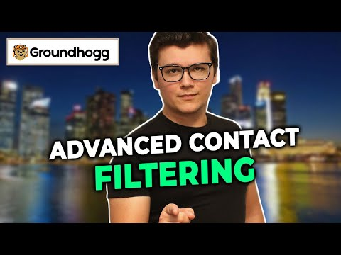 Groundhogg 2.5 Filters Demo   New!