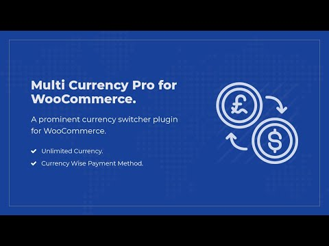 Multi Currency Pro for WooCommerce - Currency Switcher Plugin