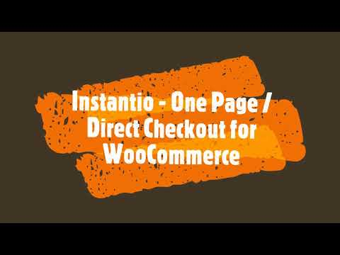 Direct Checkout / One Page Checkout for WooCommerce - Instantio